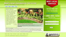 Lawn Services Site